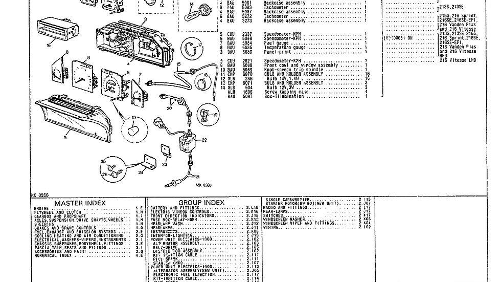 Parts Microfiche supplied as PDF