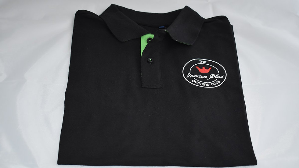 Club Logo Contrast Polo Shirt