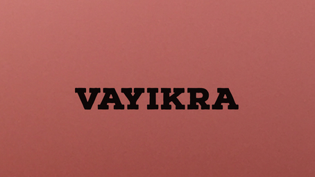 The 5 Offerings - Torah Portion Vayikra