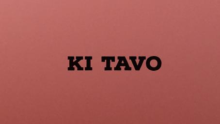 What Is Expected - Torah Portion Ki Tavo