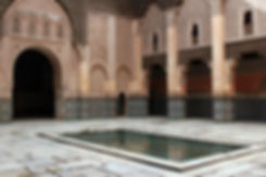 A Mosque Courtyard