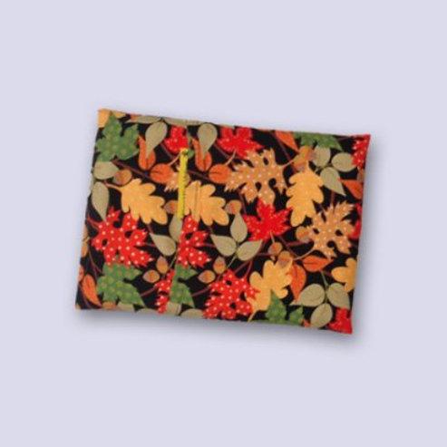 Naturkissen aus Traubenkernen für den Herbst