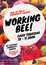 Community Garden Special & Regular  Work
