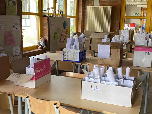 Bedankt voor de massale bestelling van onze knutselboxen!