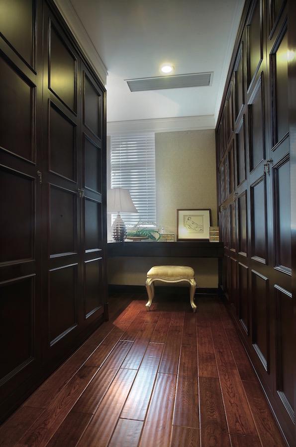 роскошная гардеробная комната