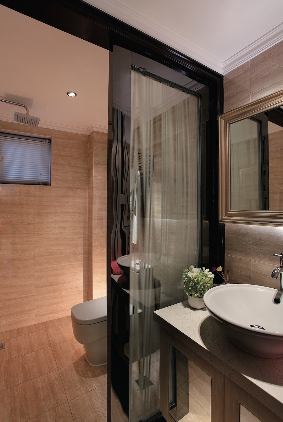 декоративная перегородка для ванной