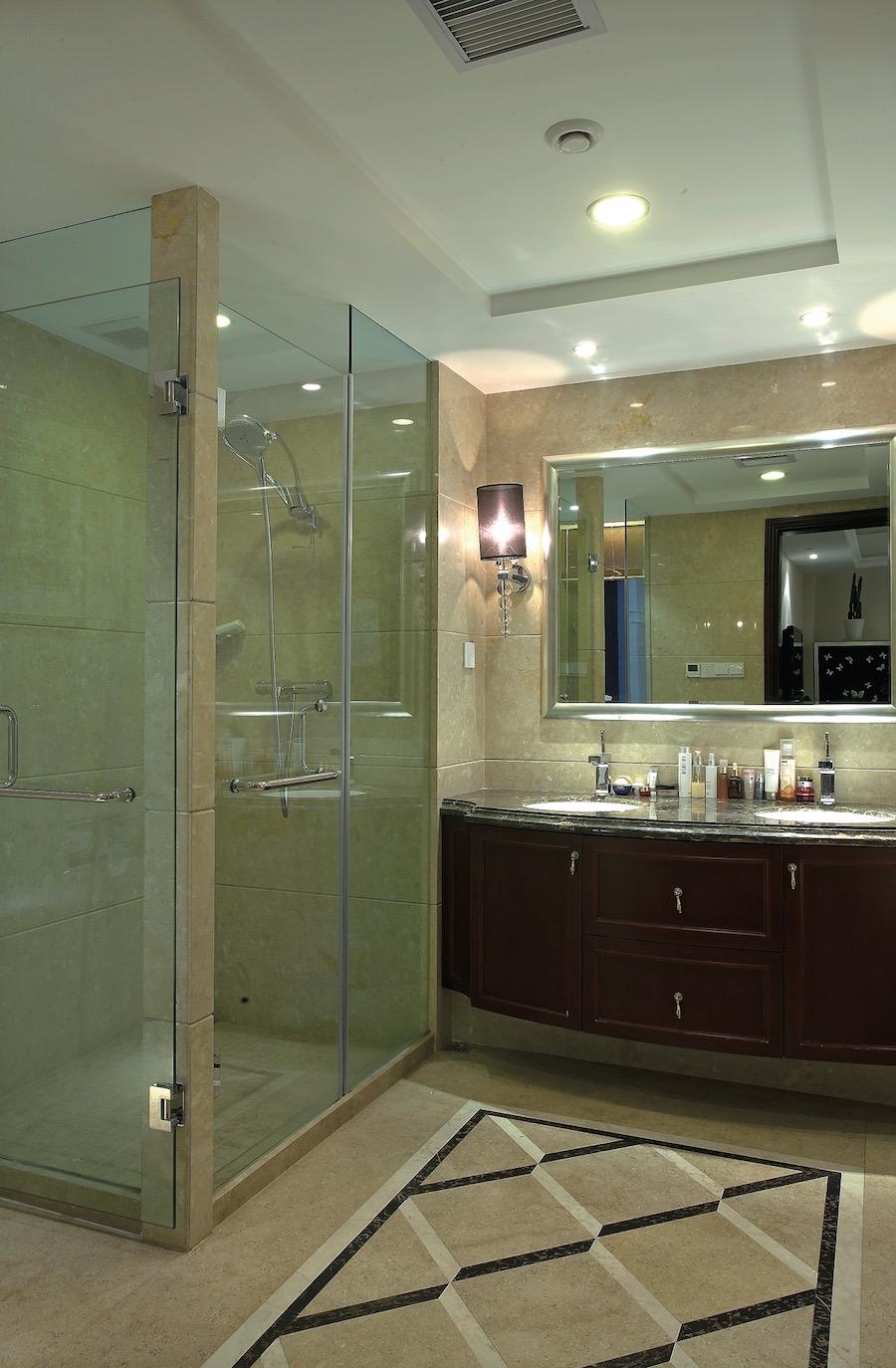 Огражление в душ и санузел