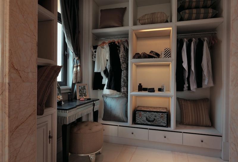 уютная гардеробная
