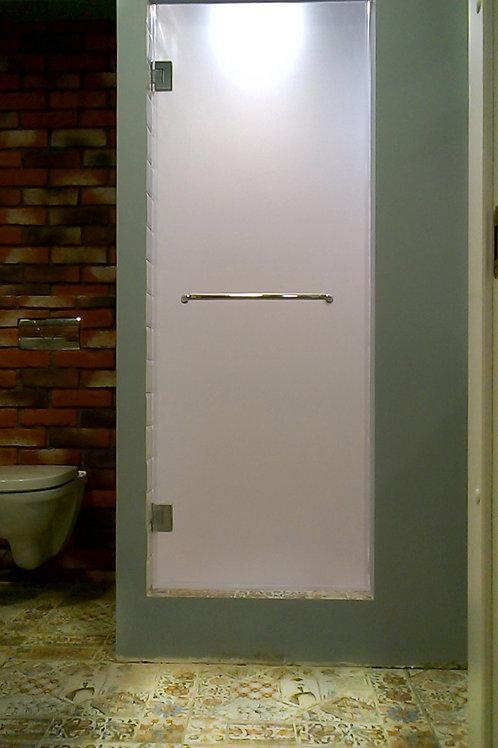 Душевая дверь матовое стекло