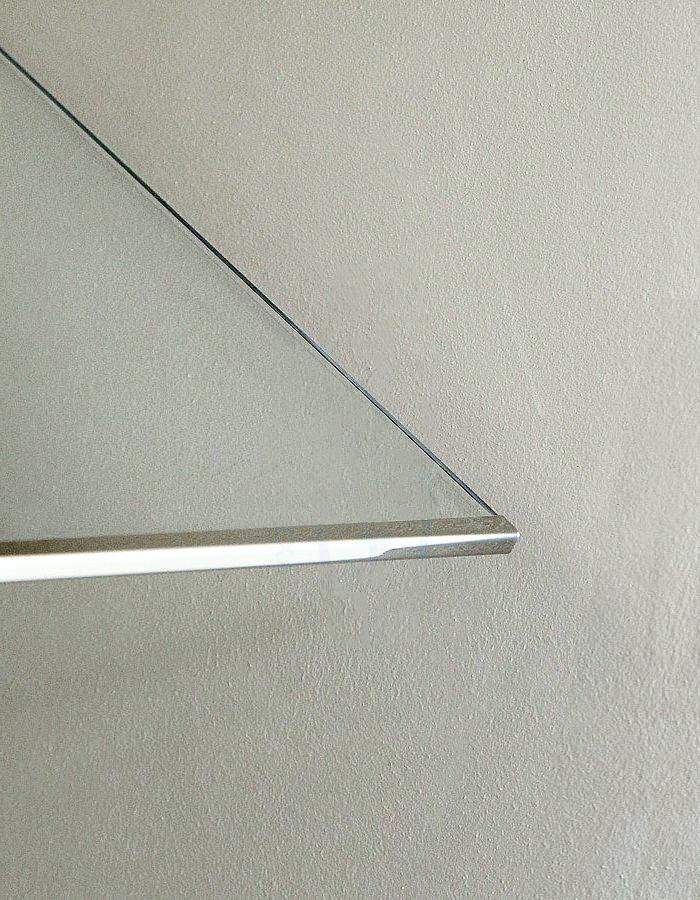 полка стекло и металл