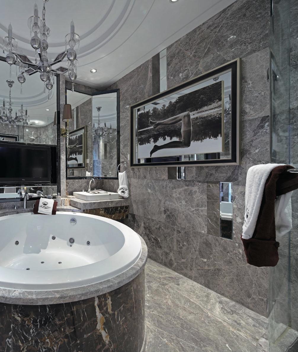 современное панно в ванной