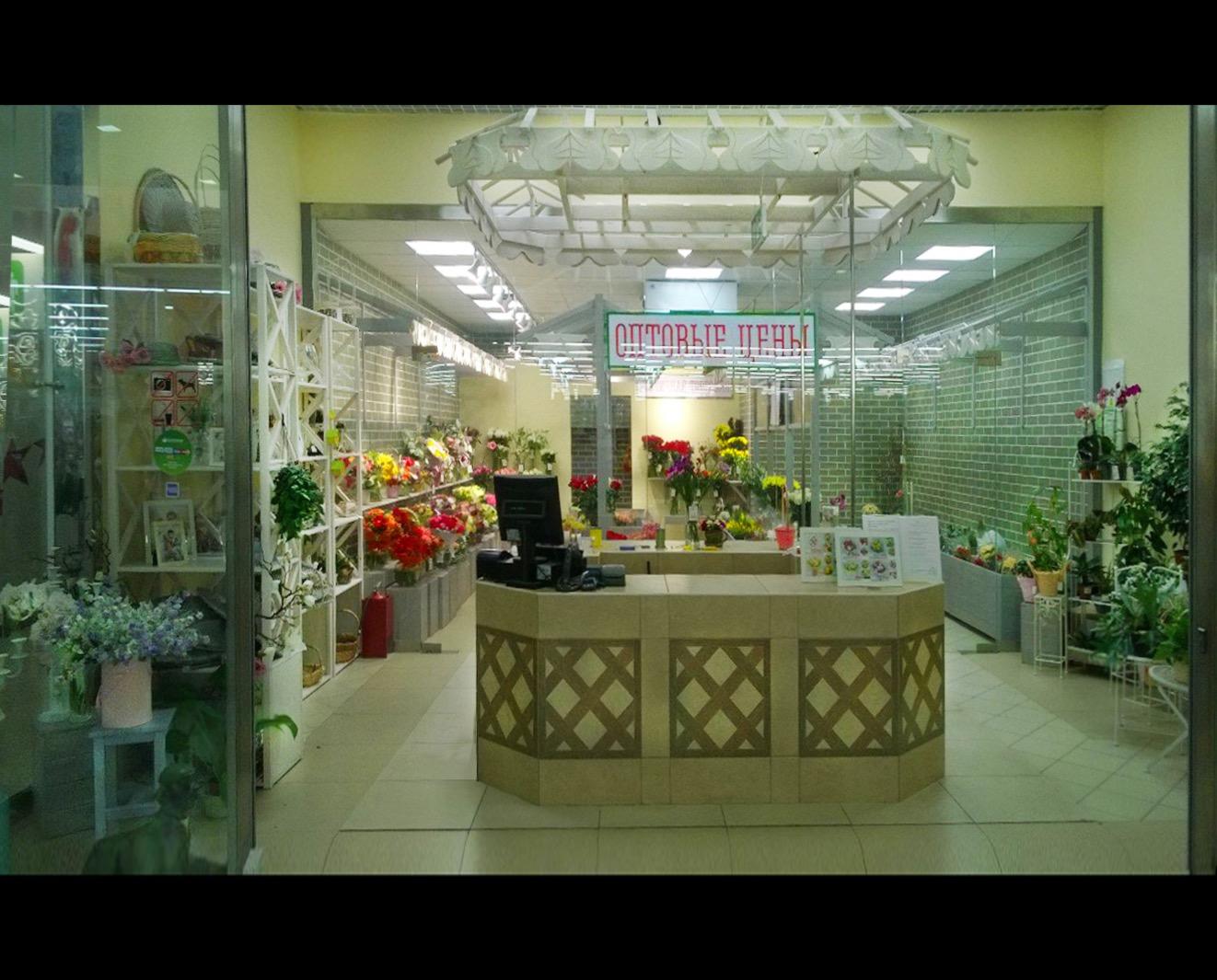 стеклянная перегородка магазин