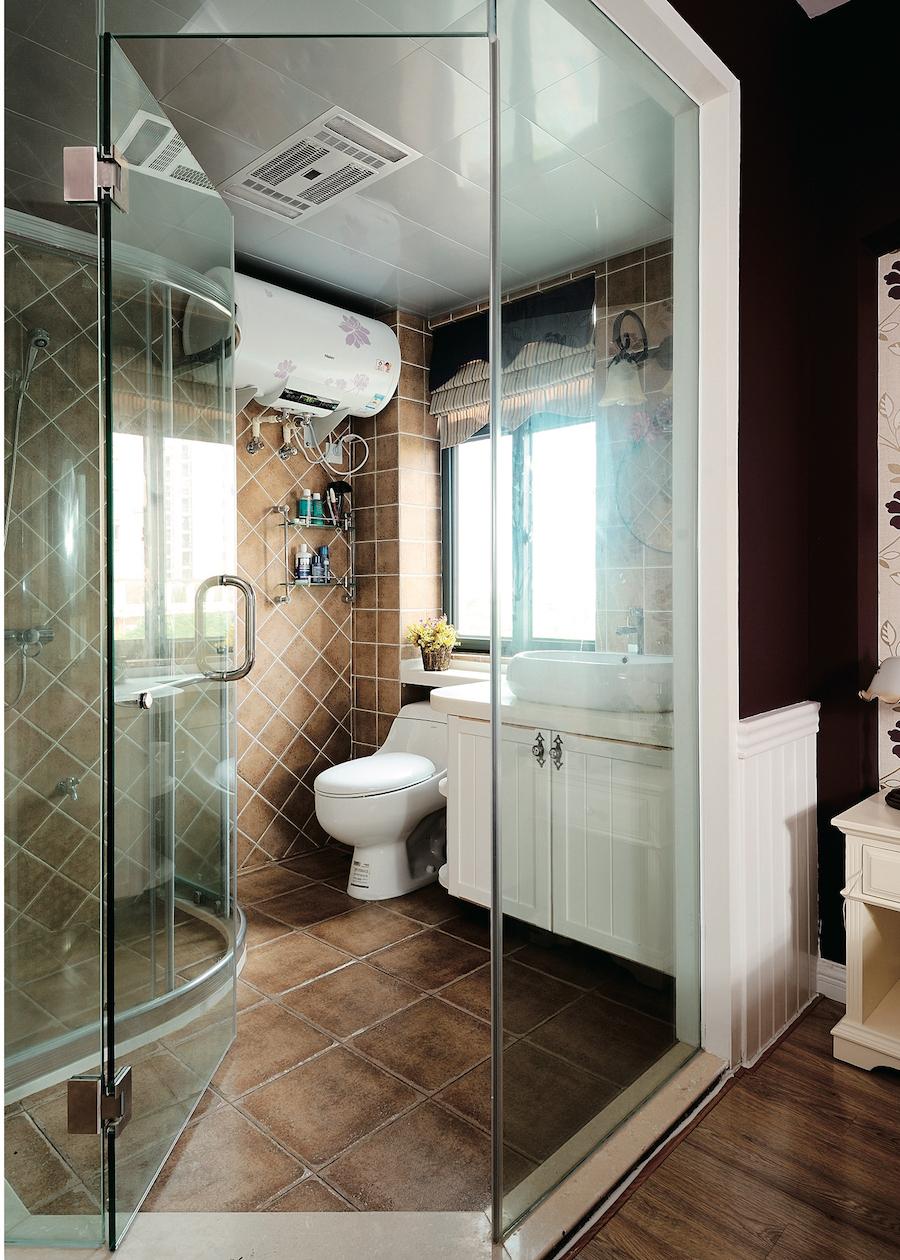 """душевая в ванной  комнате """"прованс"""""""