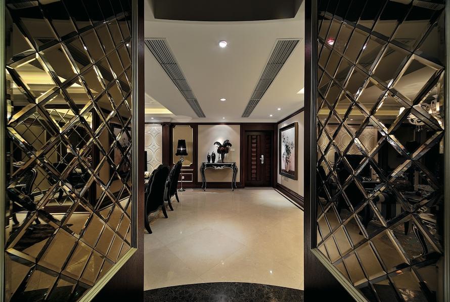 Зеркальные модули с фацетом - двери