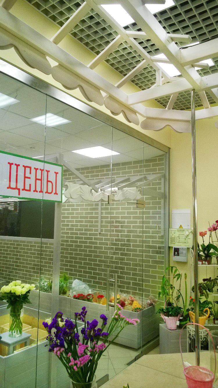 перегородка холодильник для магазина
