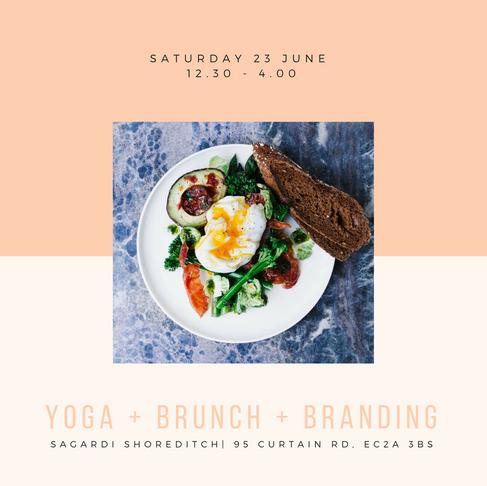 Yoga + Brunch + Branding