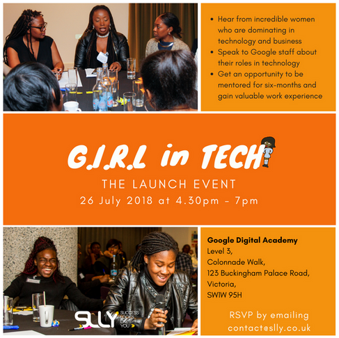GIRL in Tech Mentoring + Bursary Scheme