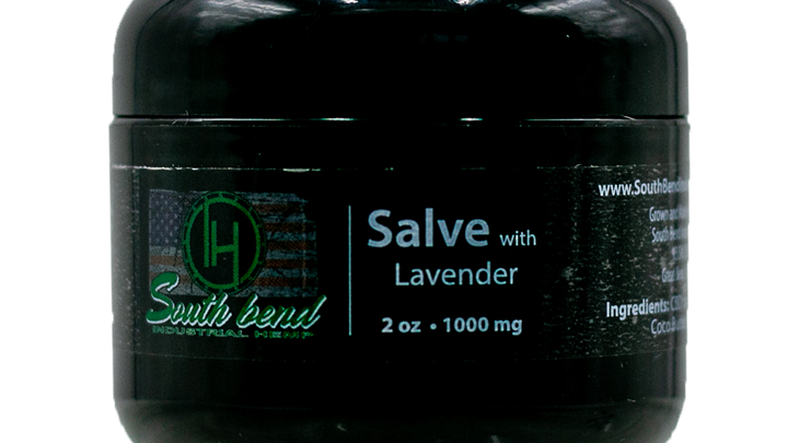 CBD Salve with Lavender (2 oz/1000 mg)