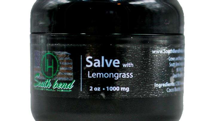 CBD Salve with Lemongrass (2 oz/1000 mg)