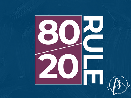 How to Improve Your Social Media Marketing Using the 80/20 Rule