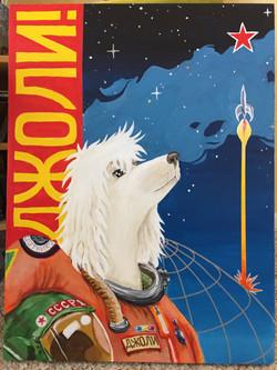 Jolie Sputnik Poster, 2018
