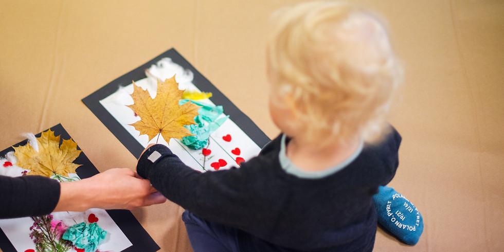 Veebipõhine loovteraapia 1–3a väikelastele