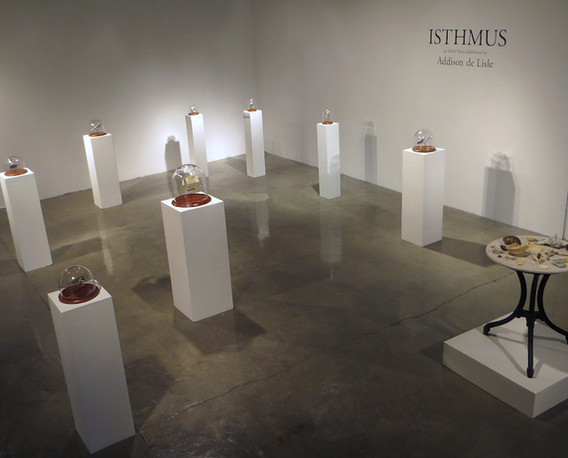 Isthmus: an MFA Thesis Exhibition by Addison de Lisle