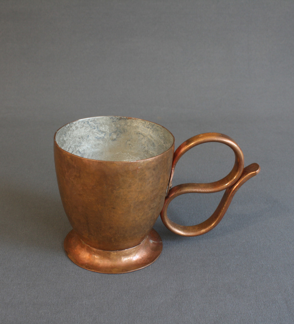 Raised Copper Cup