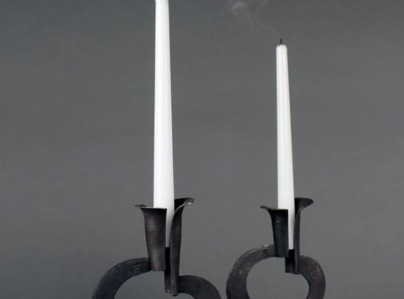 Chanterelle Candlesticks