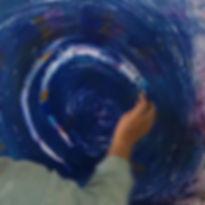Malwand für Personenzentriertes (Begleitetes) Malen