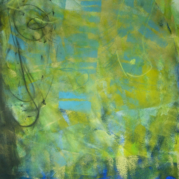 Kunsttherapie / Malatelier in Winterthur bei Magdalena Windler: Ausdrucksmalen - Bild - Gouachefarben
