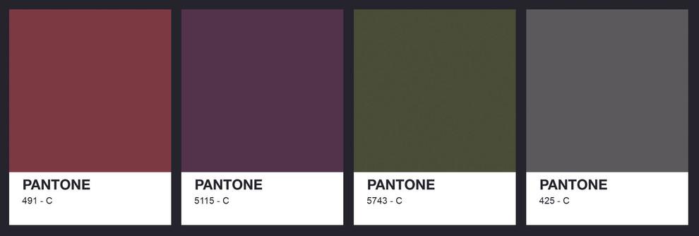 Pantone Colour Palette