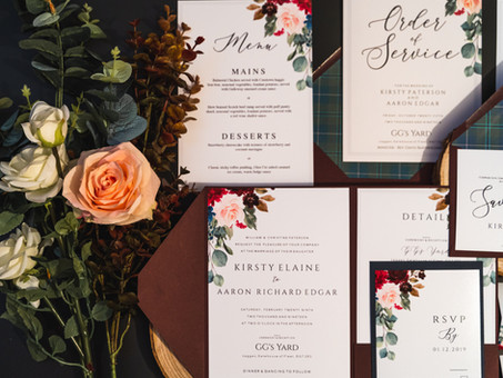 Understanding Our Invitation Layouts - What Style is right for you?