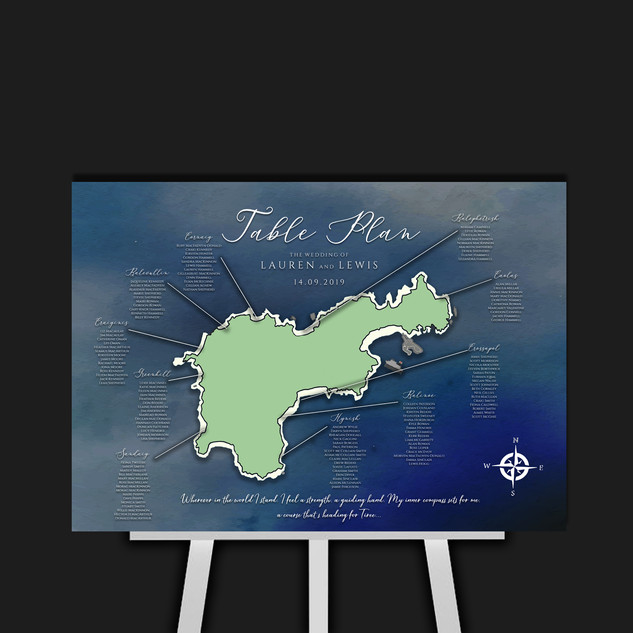 Tiree Table Plan