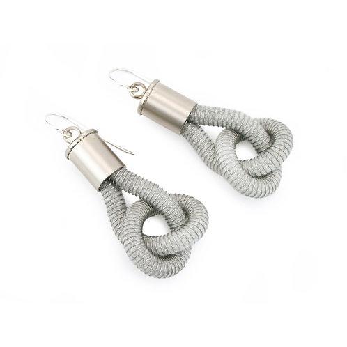 Industrial Jewellery Anna Earrings Light Blue