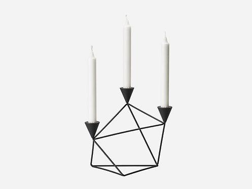 Design House Stockholm - Pythagoras candleholder Black