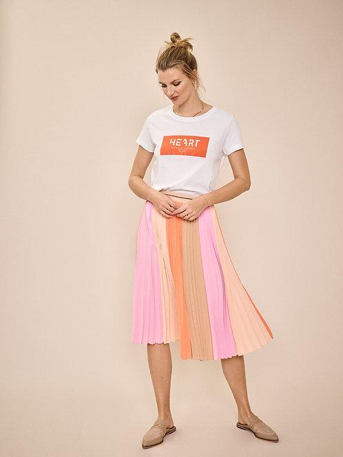Mos Mosh Plisse Block Skirt