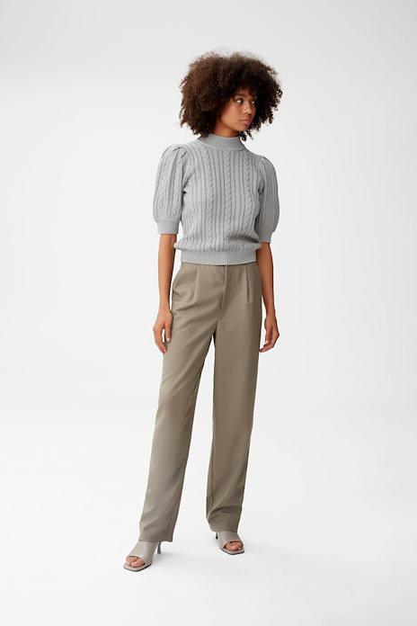 Gestuz Slate Gray Rawangz Knitted Pullover