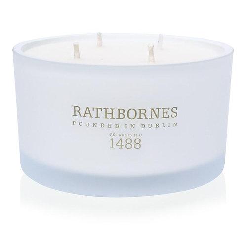 Rathbornes Cedar, Cloves & Ambergris Scented Luxury Candle