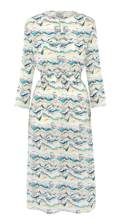 Primrose Park Tiffany Dress Wave Print