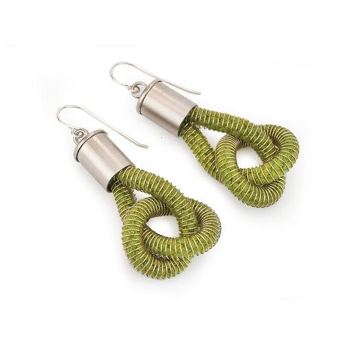 Industrial Jewellery Anna Earrings Forest