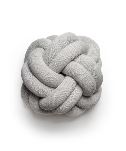 Design House Stockholm Knot Cushion Light Grey
