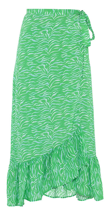 Primrose Park Tiffany Simi Skirt Green Zebra