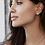 Thumbnail: Anna Beck Dish Stud Earrings Gold