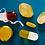 Thumbnail: Jonathan Adler Small Acrylic Pill Yellow