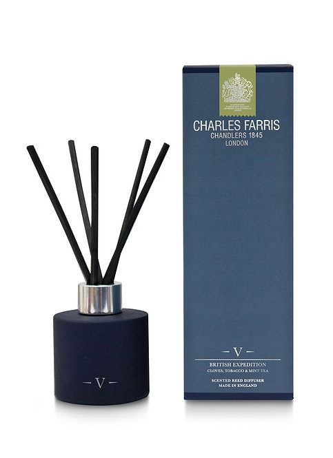 Charles Farris British Expedition Reed Diffuser Cloves, Tobacco & Mint Tea