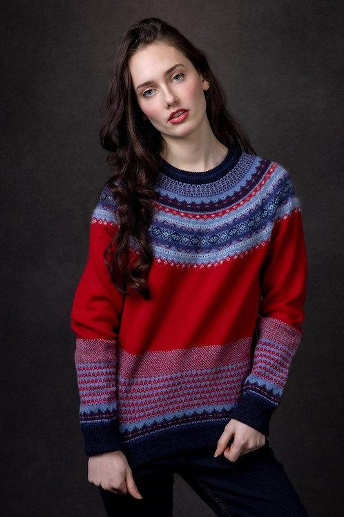 Eribe Alpine Poppy Sweater