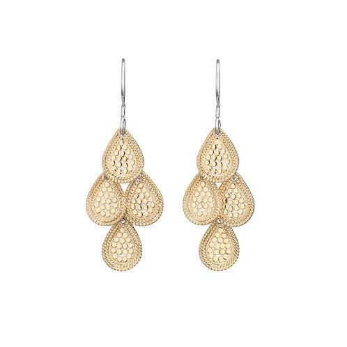 Anna Beck Earrings Chandelier Earrings Gold