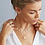 Thumbnail: Anna Beck Mini Disc Charm Necklace Gold and Silver
