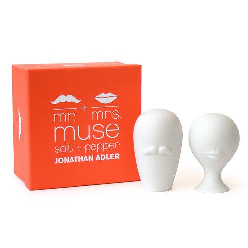 Mr & Mrs Muse Salt & Pepper Set